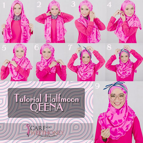 Cara Memakai Hijab Modern | Hijab Pashmina Reviewed by KompasPost on