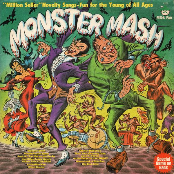Хэллоуин песня монстер маш - Слишком темы самообразования в яслях зря скача