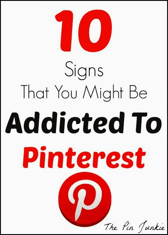 are you addicted to pinterest?l