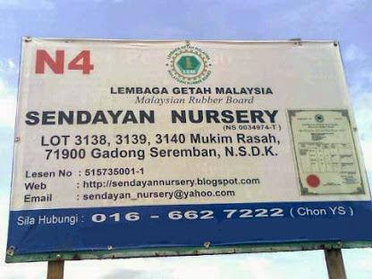 Nursery Signboard