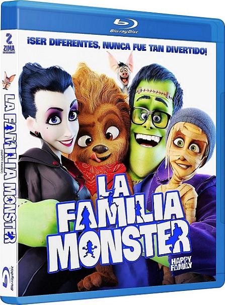 Happy Family (La Familia Monster) (2017) 720p y 1080p BDRip mkv Dual Audio AC3 5.1 ch