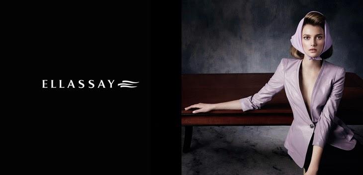 Ad Photoshoot : Sigrid Agren Photoshot For Ellassay Magazine Spring/Summer 2014 Campaign