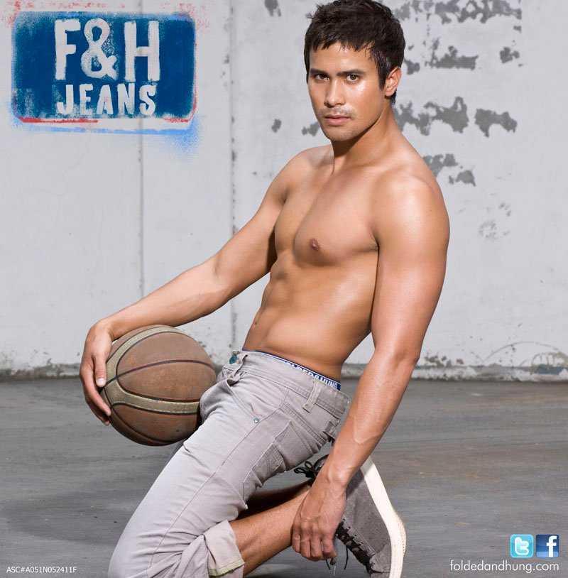 Sam Milby for Folded & Hung Jeans Ad Campaign 2011 ...