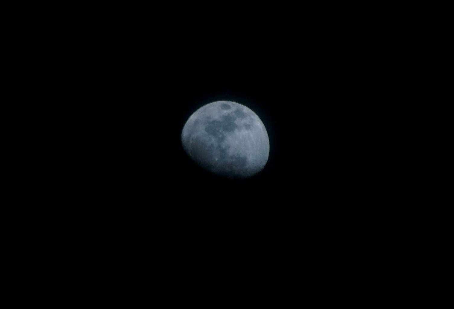 moon night sky in desert   Sam Thomson Cycle touringtravel Photo Blog