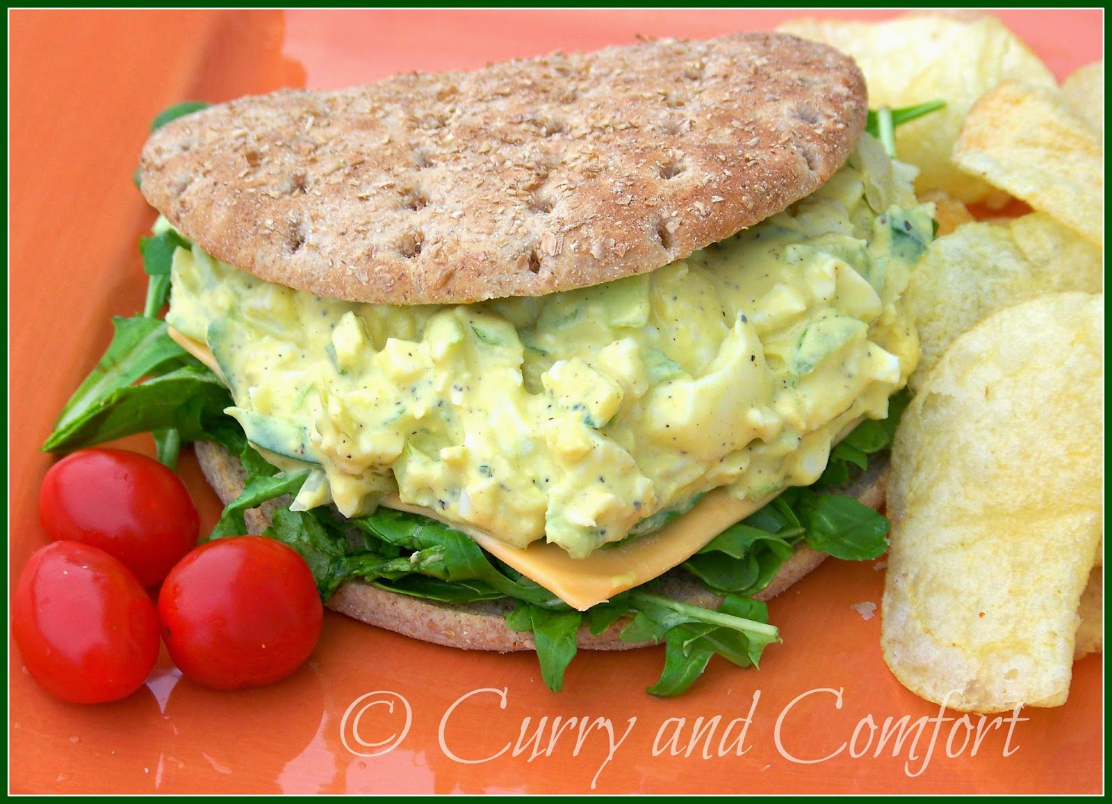 Kitchen simmer spicy egg salad did you know that april has a national egg salad week since eggs are a great focus during easter eggs salad is a perfect recipe to make with all those forumfinder Image collections