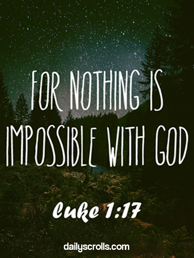 All Possible with HIM!