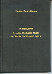 """In memoriam: D. Anna Gomes da Costa e D. Cecília Godinho de Paula""""."""