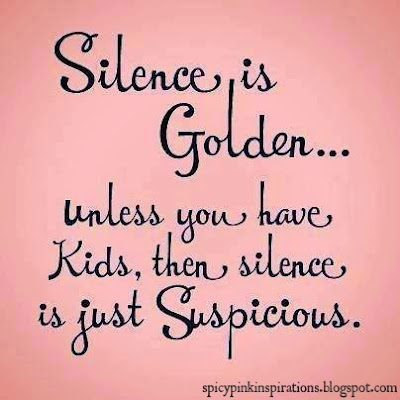 Silence Is Golden | www.SpicyPinkInspirations.com