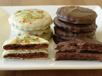 Vegan Mint Chocolate thins
