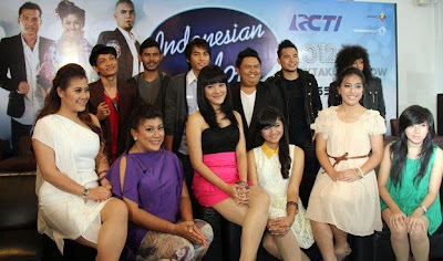 Foto Finalis Indonesian Idol 2012