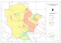 Peta Penggunaan Lahan Dusun Salak
