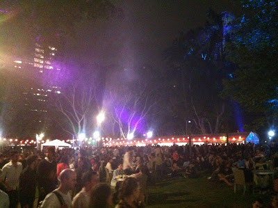 Southern Spoon blog: Sydney Food Festival: Night Noodle Markets