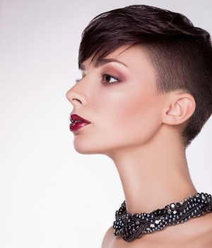 Pixie cut for heart shaped face