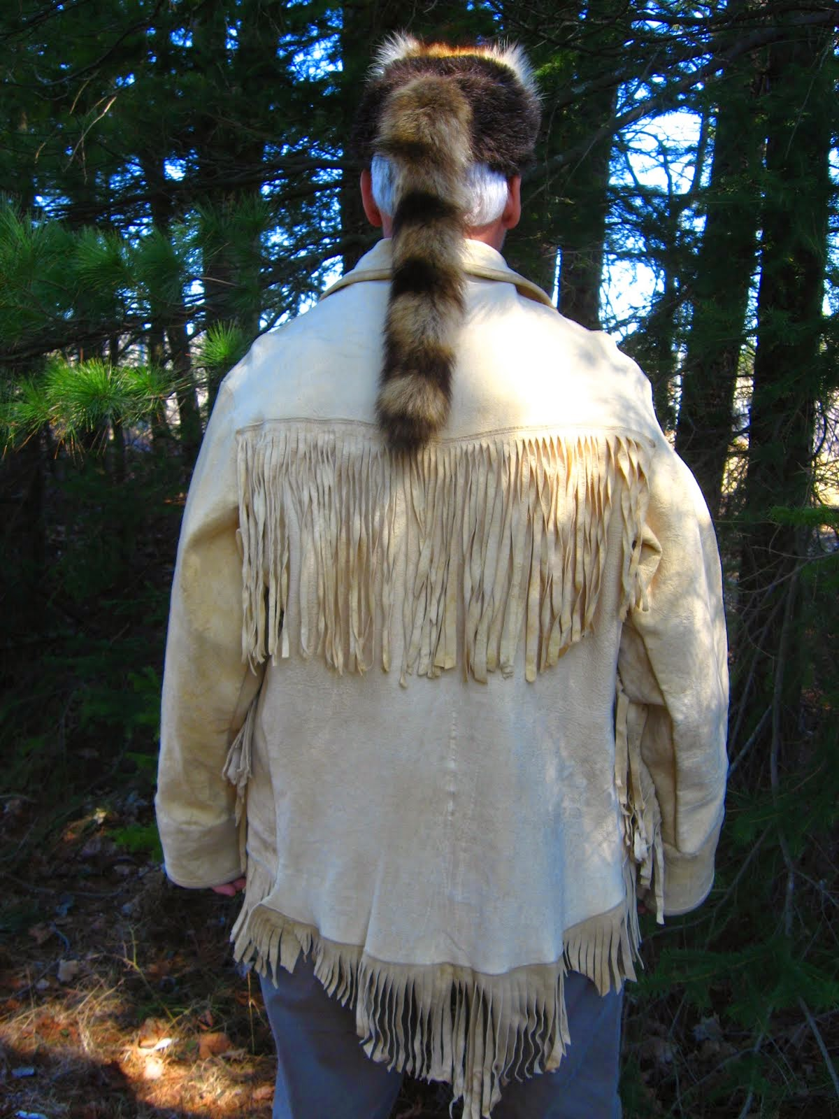 Tasseled Buckskin Jacket