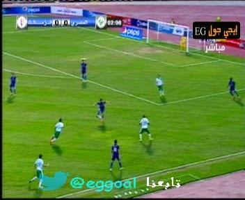 اهداف مباراة الزمالك و المصرى || الدورى المصرى