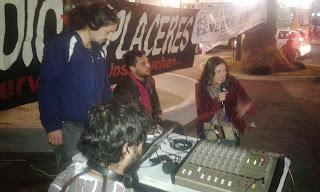 Asamblea por la democratización de las comunicaciones Valparaíso realiza Radio Abierta por el Derecho a la Comunicación