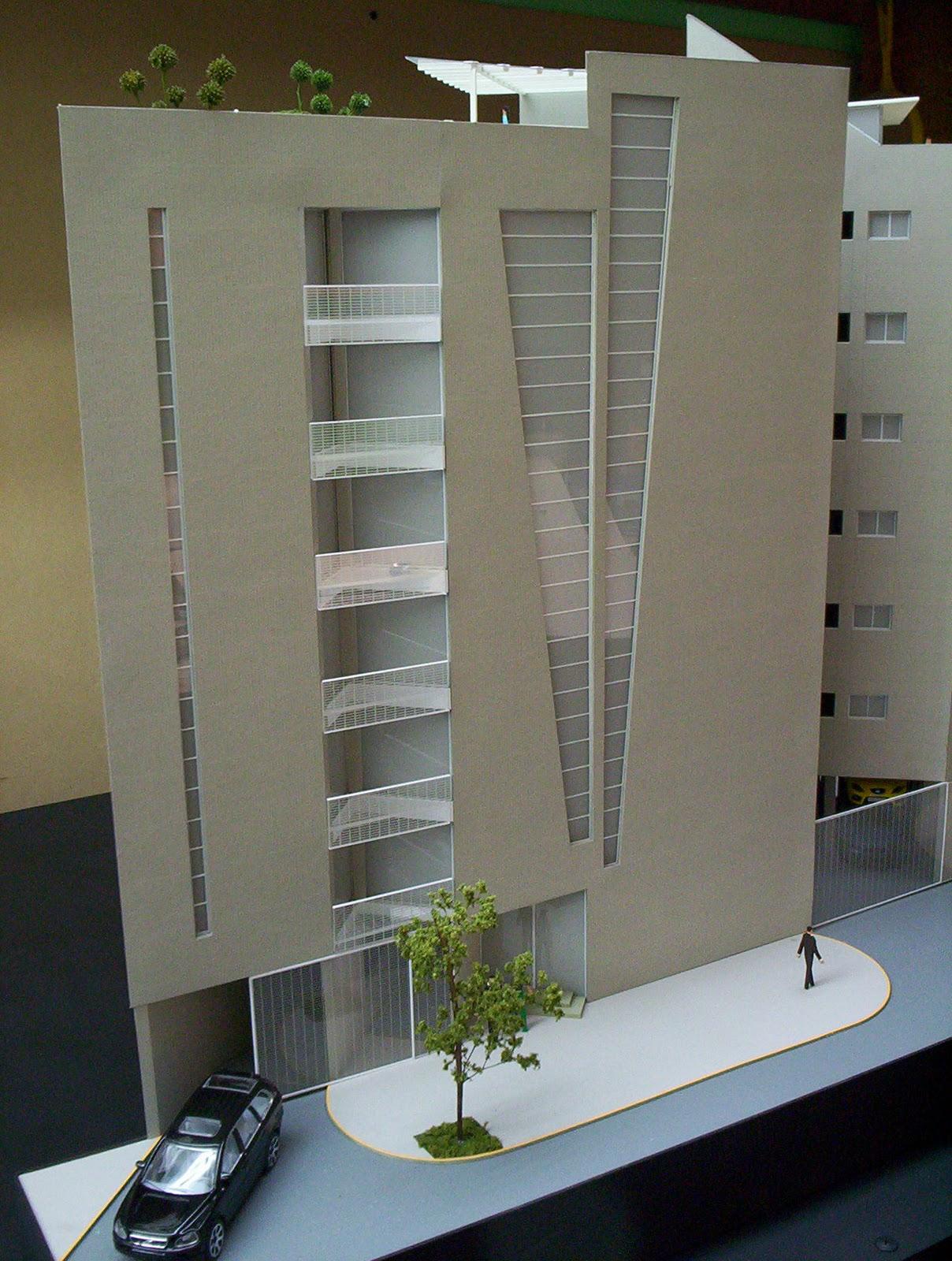 Edificio de departamentos for Edificio de departamentos planos