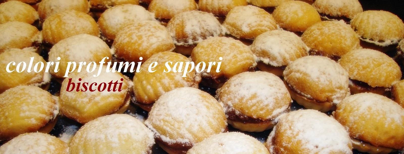 biscotti ripieni ,noci dolci