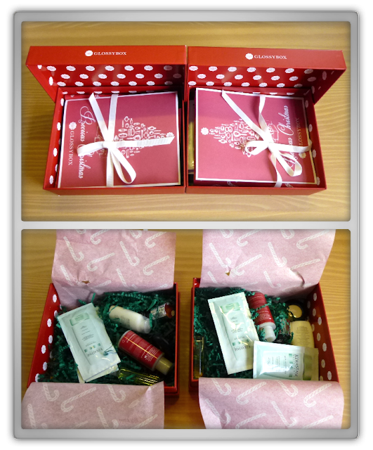 Glossybox December 2013 kerst review unboxing