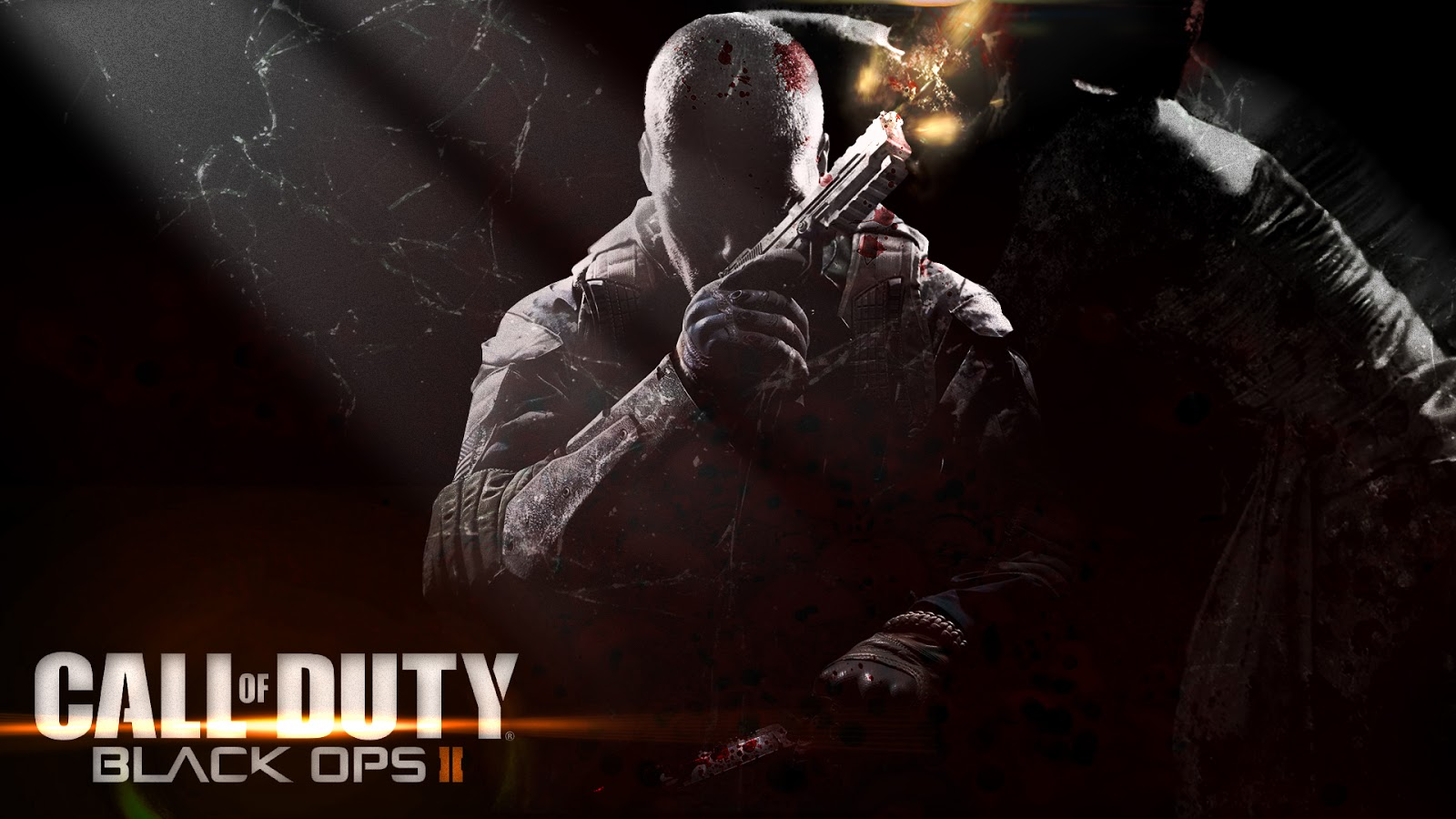 call of duty black ops 2 zombies | wallpaper speed art | tiger spik