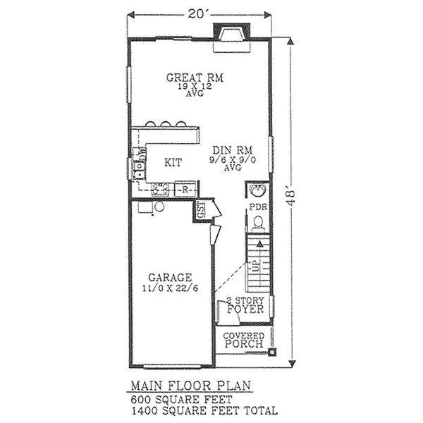 Plano Arquitectonico De Casa Habitacion on En La Planta Baja Tenemos Un Garage Para 2