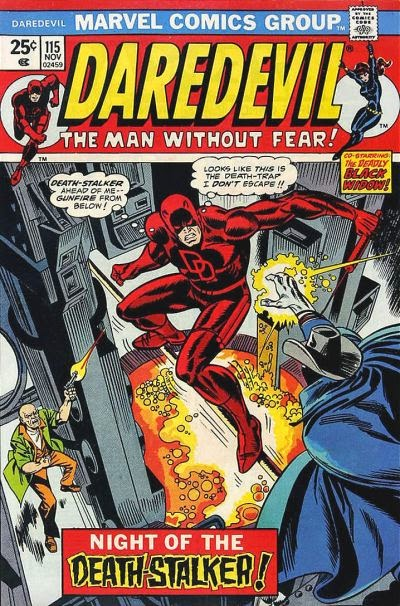 Daredevil #115, Death-Stalker