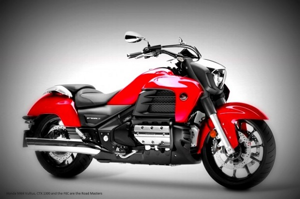 Honda NM4 Vultus, CTX 1300 and the F6C are the Road Masters