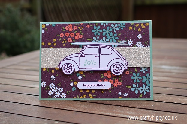 Wildflower Fields, Stampin' Up!, Beautiful Ride, Stampin' Up!