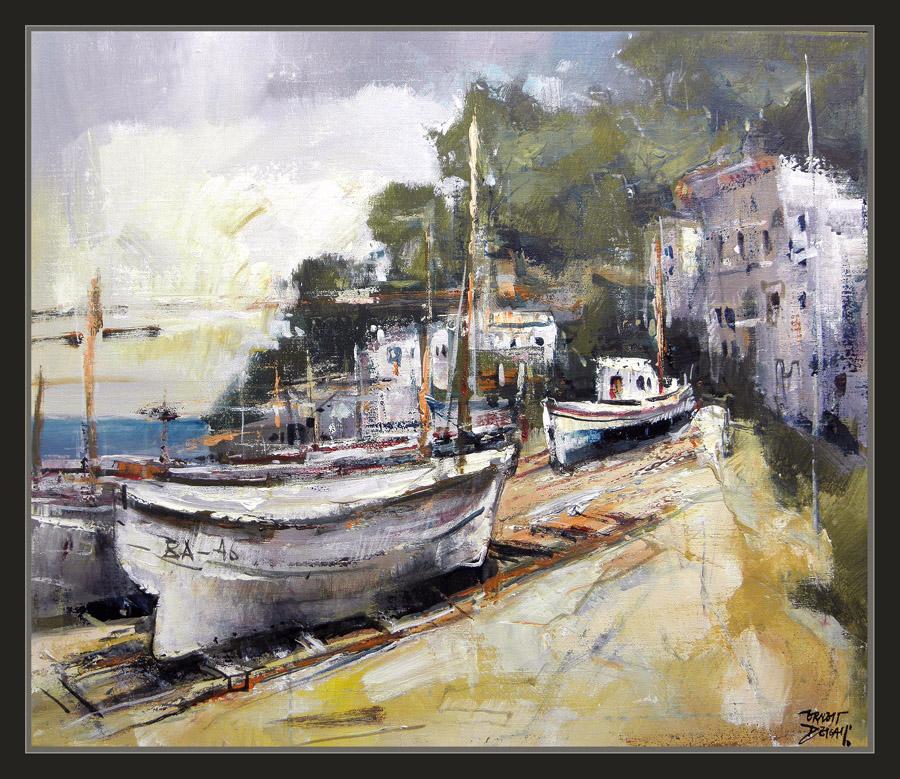 Ernest descals artista pintor begur pintura marinas - Pintores en girona ...
