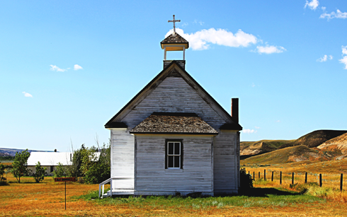 dorothy church alberta travel photography series