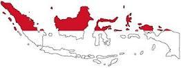 Peta Negara Indonesia