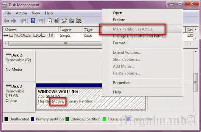 Cara Menginstall Windows dengan Flashdisk tanpa Bantuan Software