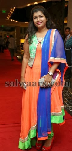 Nikitha Reddy Stylish Salwar