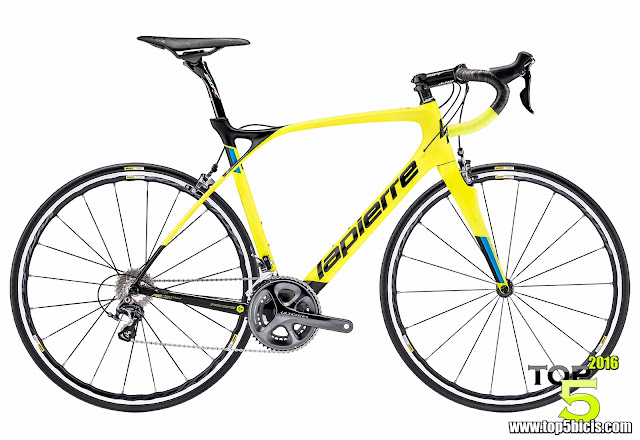 LAPIERRE XELIUS SL YELLOW ULTIMATE, gran bici y con un precio bastante bueno