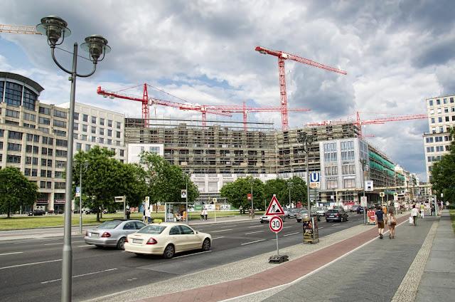 Baustelle Wohn und Shoppingwelt, Leipziger Platz 12, LP12, Leipziger Straße, 10117 Berlin, 13.07.2013