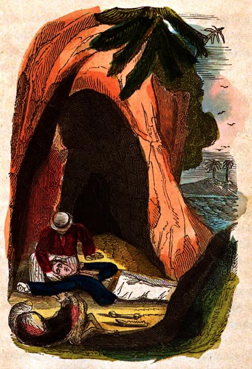 The desert island--vignette