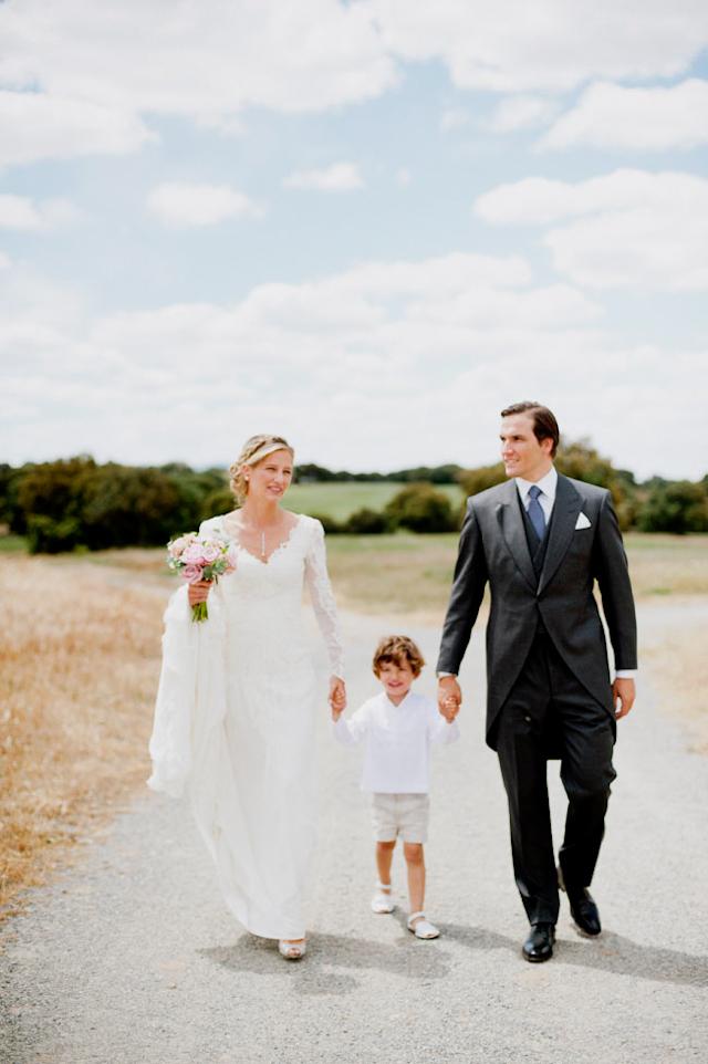 boda segovia finca aldeallana basaldua novia vestido elegante