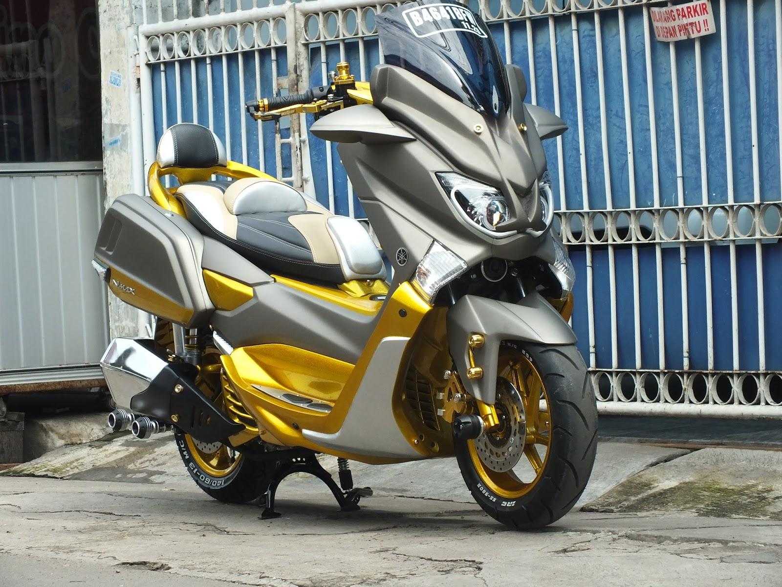 Modifikasi Jok Motor  Jok Motor Nmax Model Nmax Retro Pesanan Mr  Echwan Jakarta Barat