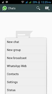 mencoba whatsapp di komputer