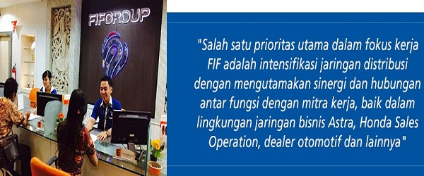 PT FIF GROUP : COUNTER SALES - KOTA BANDA ACEH, ACEH