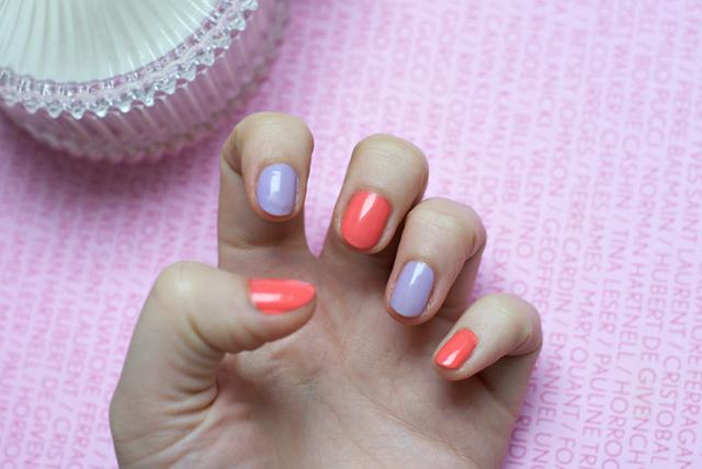 pastel nail polish manicure spring