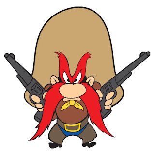 Yosemite Sam Gunslinger 2nd amendment DEFCAD Defense Distributed ATF AR15 3d printing