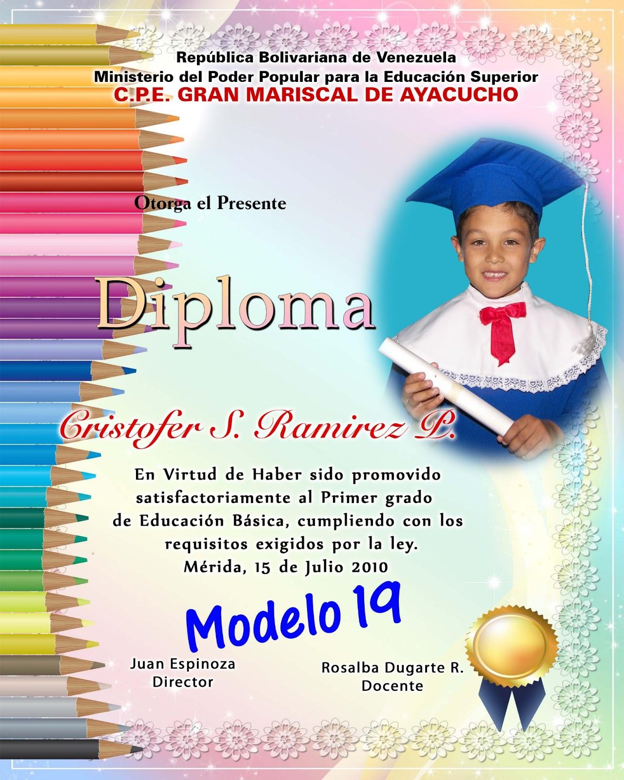 Diseos Para Diplomas De Preescolar | MEJOR CONJUNTO DE FRASES