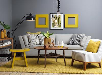 color gris decoracion pintura y madera