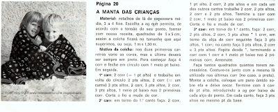 RECEITA DE MANTA DE CROCHE EM PATHWORK