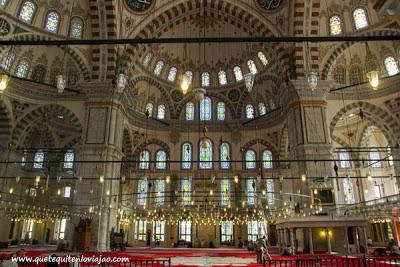 Mezquita Estambul - Viaje a Turquia