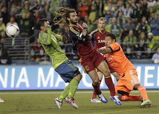 Real Salt Lake, goalkeeper, Nick Rimando, Seattle Sounders, Michael Gspurning