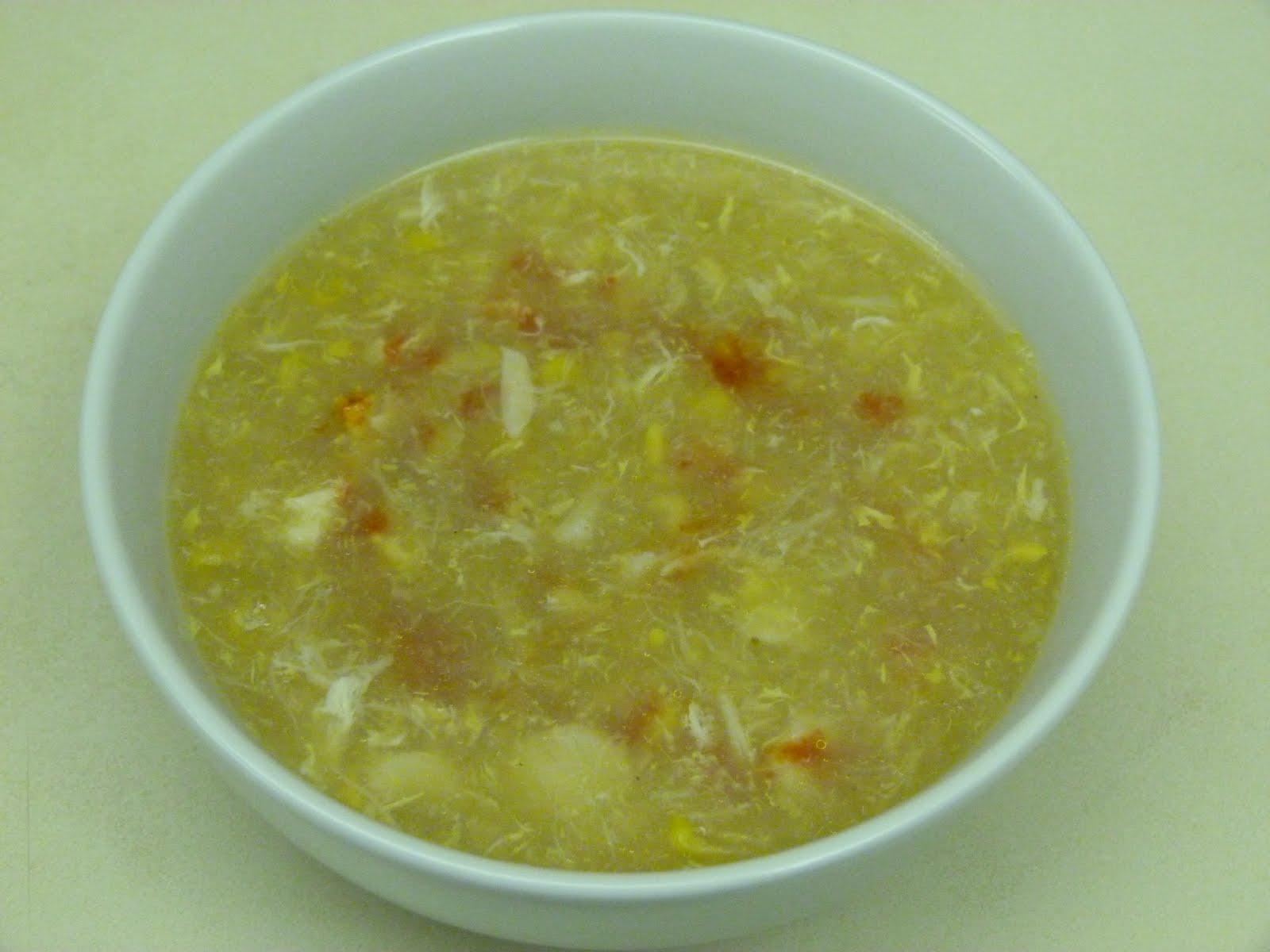 torontogirlcarolyn: Crab and Sweet Corn Soup
