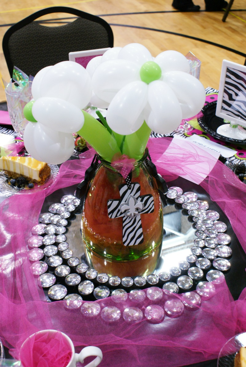 Spring luncheon stage and table decoration ideas dimples and tangles
