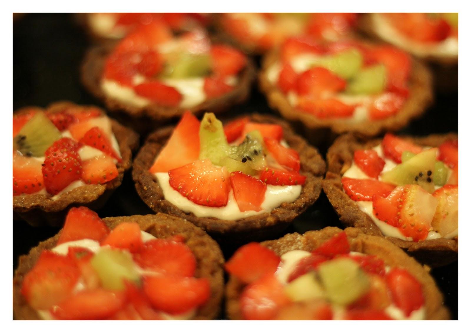 strawberry cream cheese tarts tipsy tart with brandy cream waffles